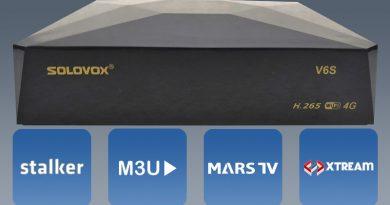 SOLOVOX OPENBOX SKYBOX V6S CCCAM MARS