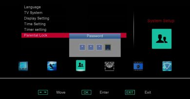 Use Parental Lock function to lock some channels on your SOLOVOX V6S