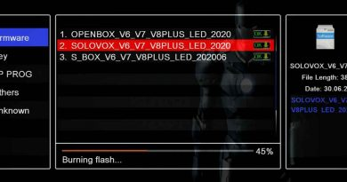 The new 20200630 firmware update brings YouTube support for V6 and V8S Plus